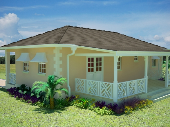 Caraway caribbean homes limited for Caribbean house designs