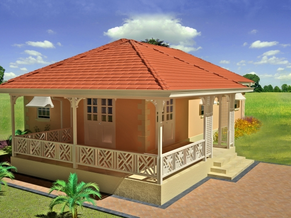 Rosedale caribbean homes limited for Caribbean house plans