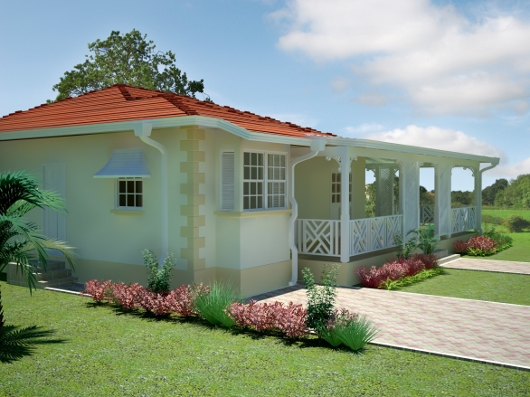 Sage caribbean homes limited for Caribbean house designs