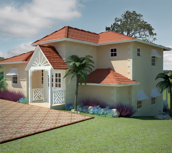 Thistle caribbean homes limited for 3 bedroom caribbean house plans